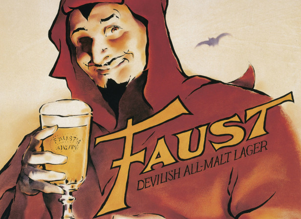Faust Lager Poster