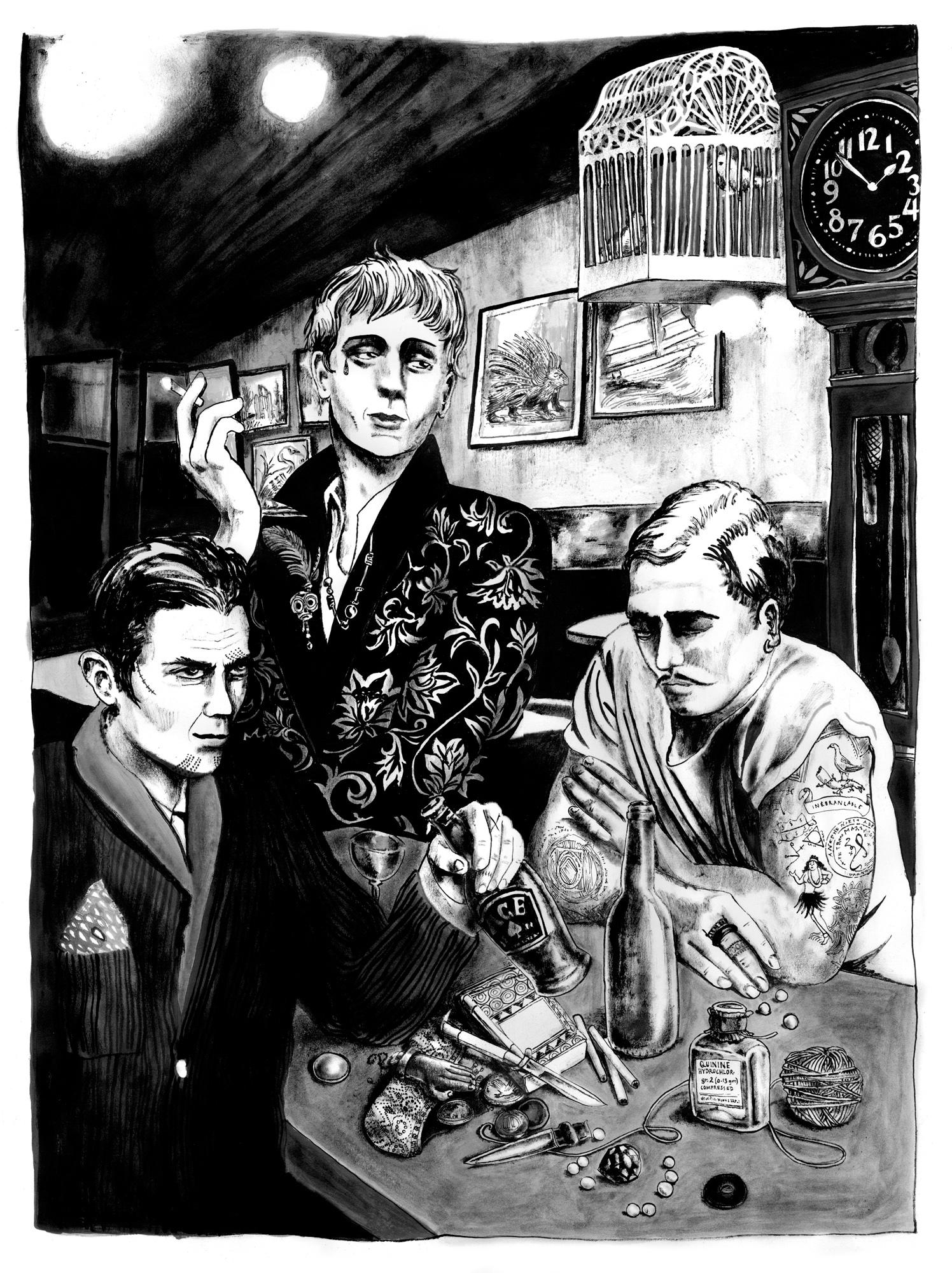 Three Adventurers