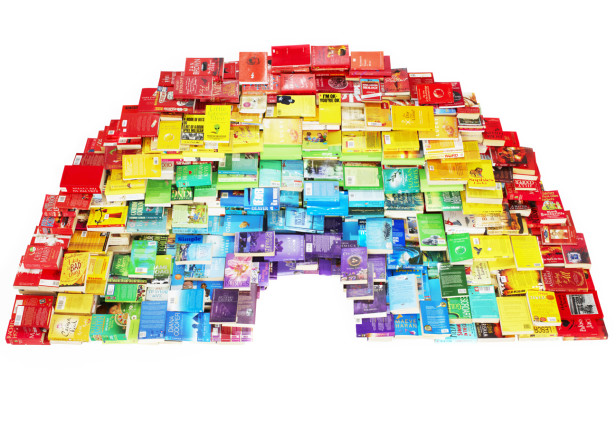 Oxfam Rainbow Books Poster
