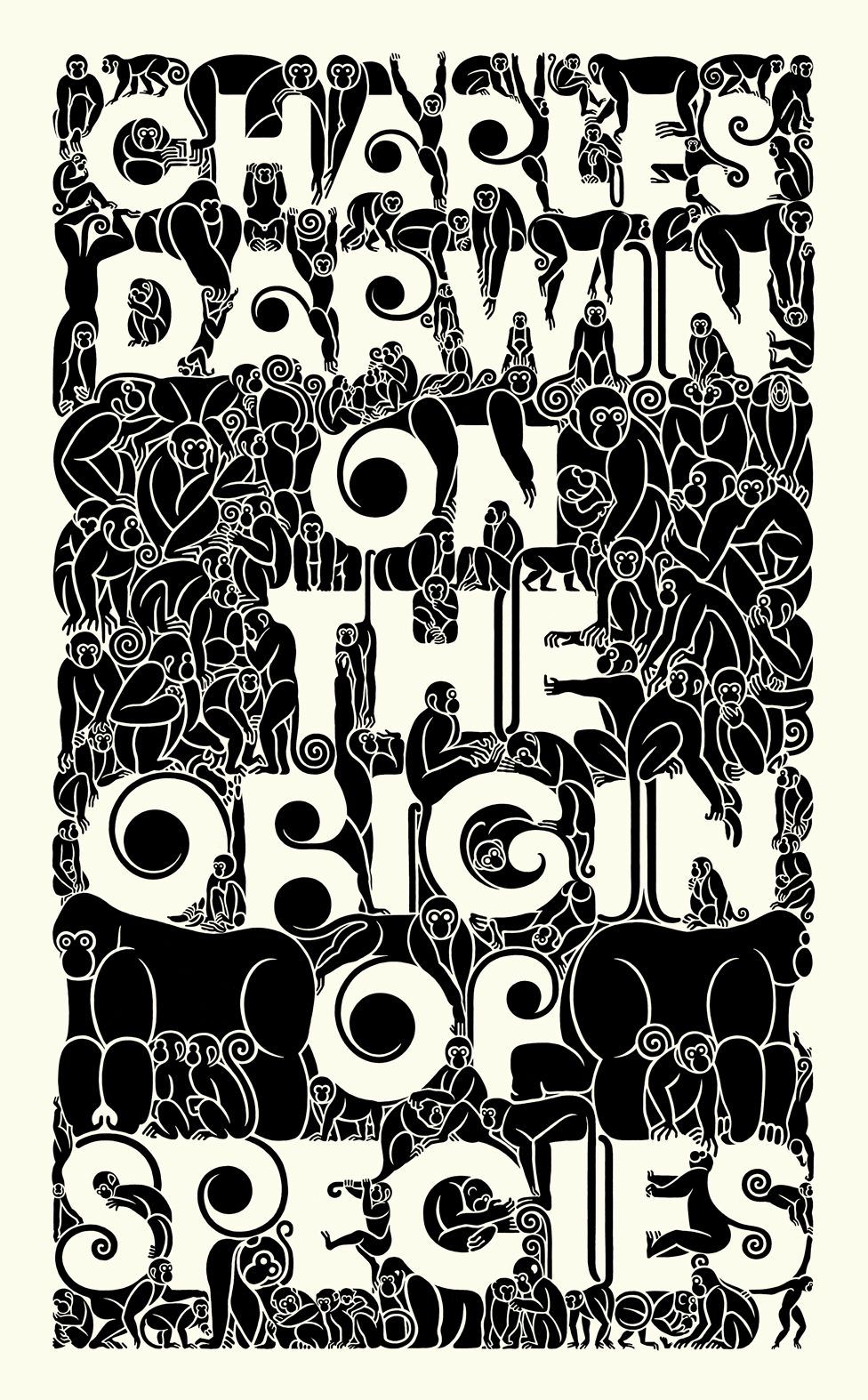 Charles Darwin - On The Origin of Species Book Cover ...