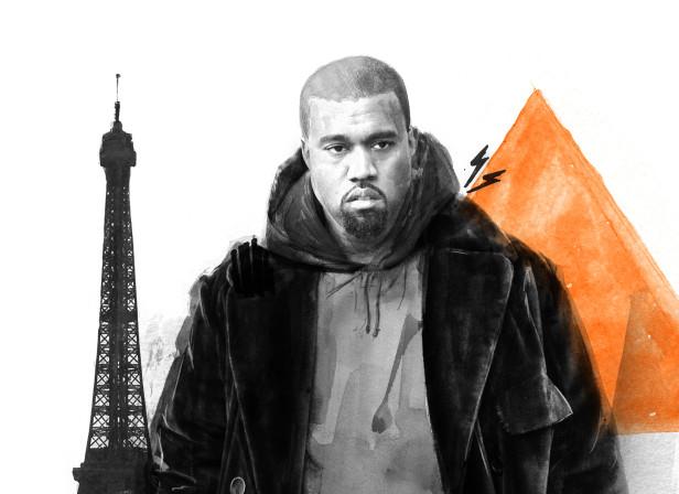 Kanye Paris