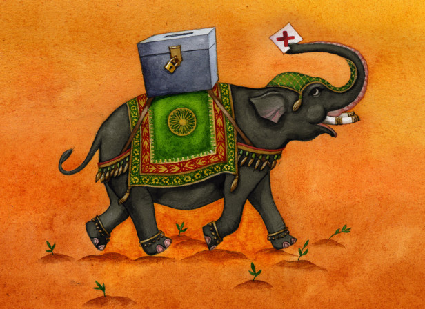India's Jumbo Election / The Economist