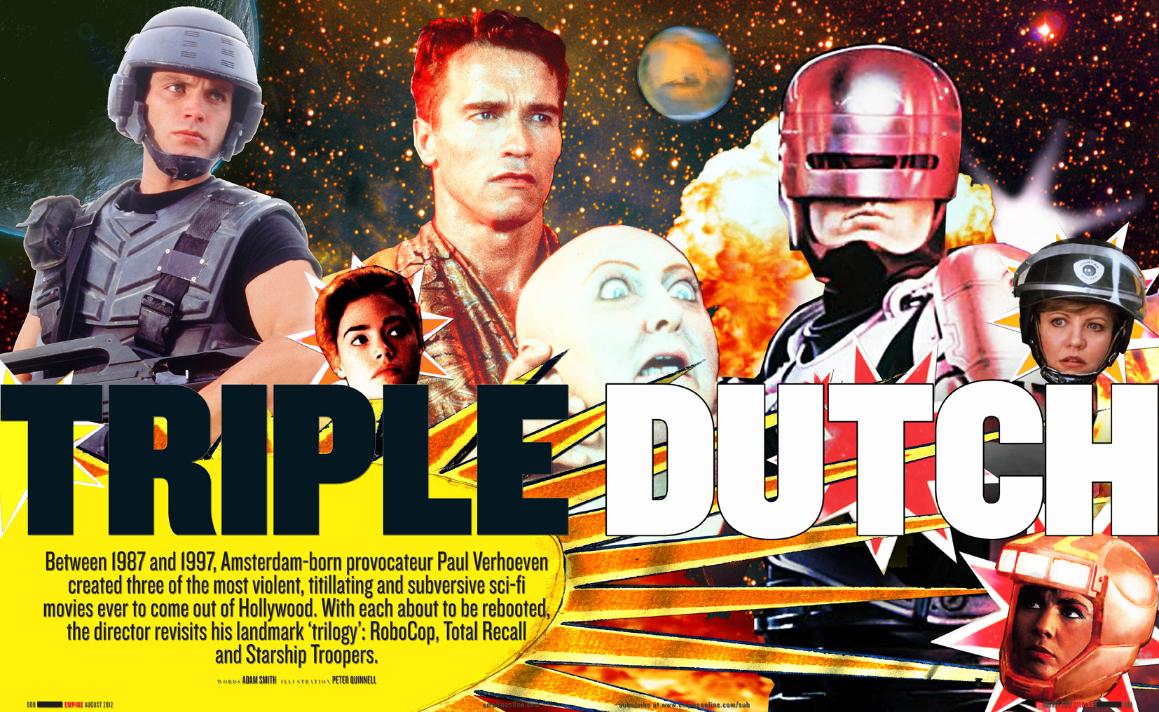 Triple Dutch / Empire Magazine