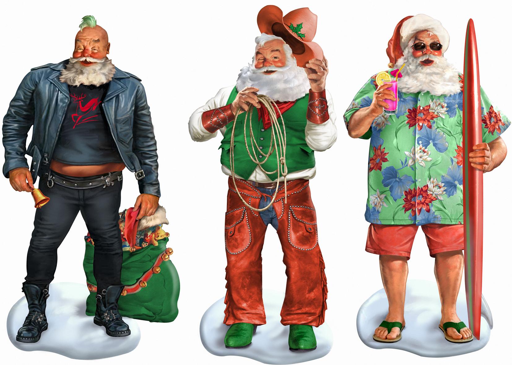 Cool Santas