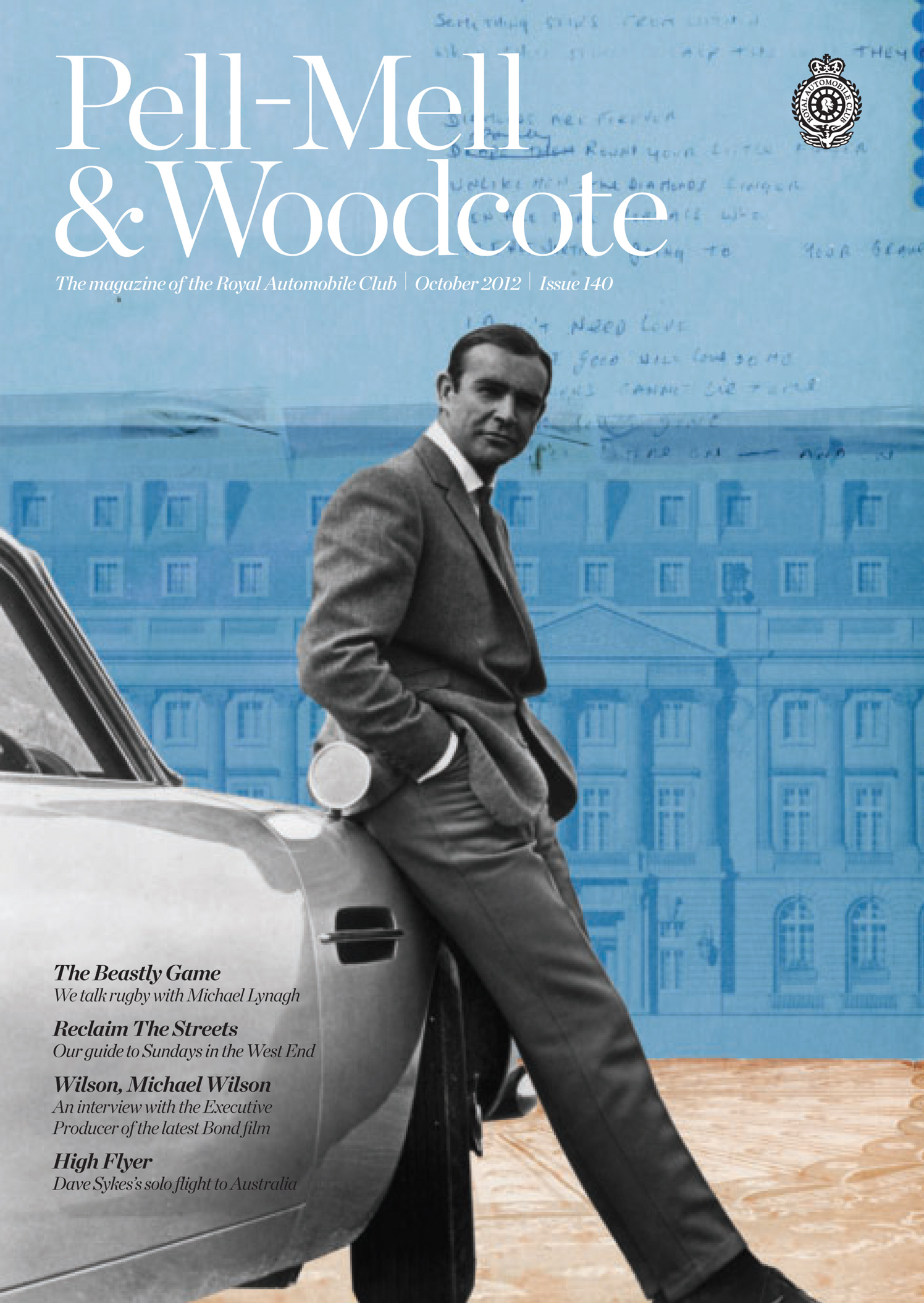 James Bond 007 Sean Connery Pell Mell & Woodcote