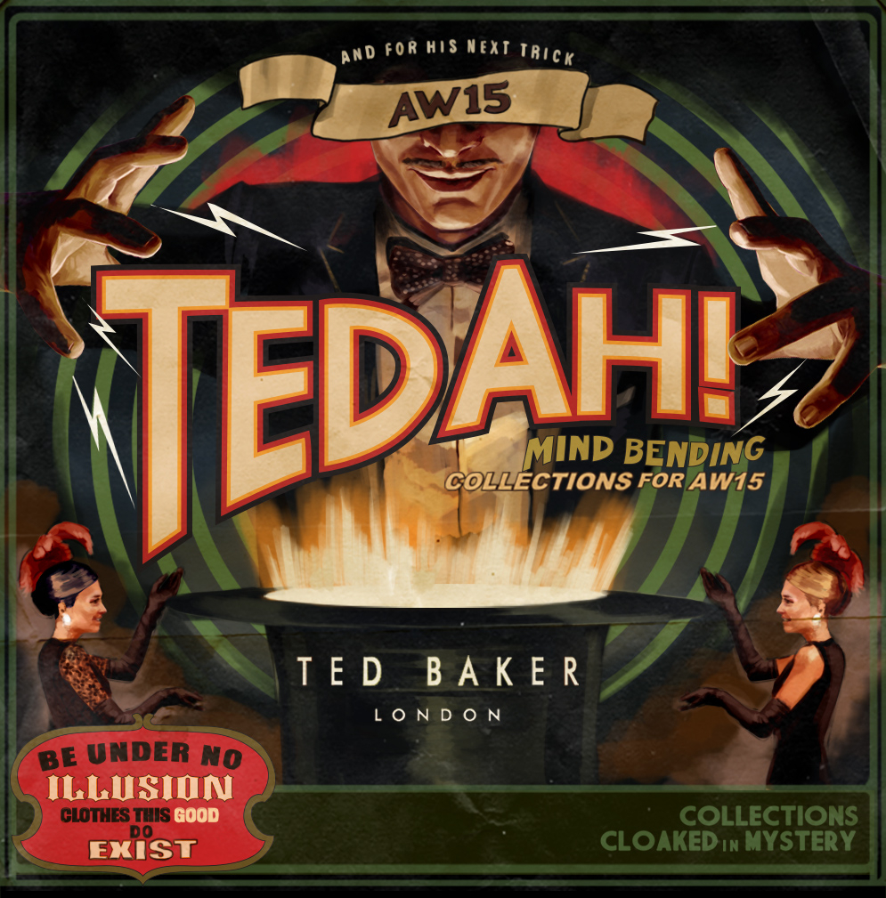 TED AH! / Ted Baker AW15