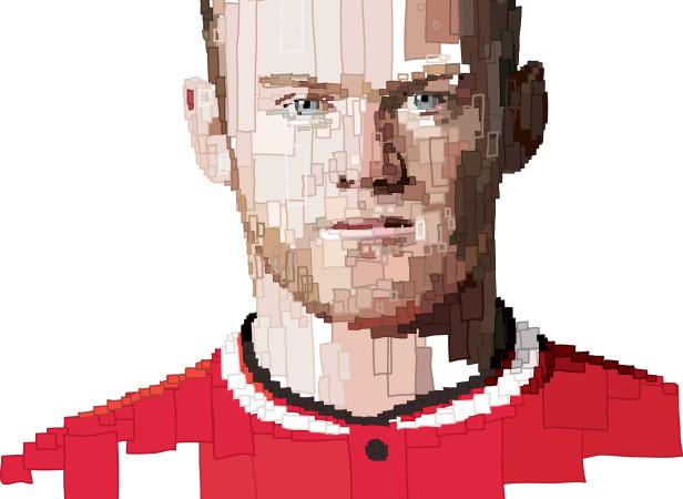 Rooney Manchester Utd Captains room.jpg