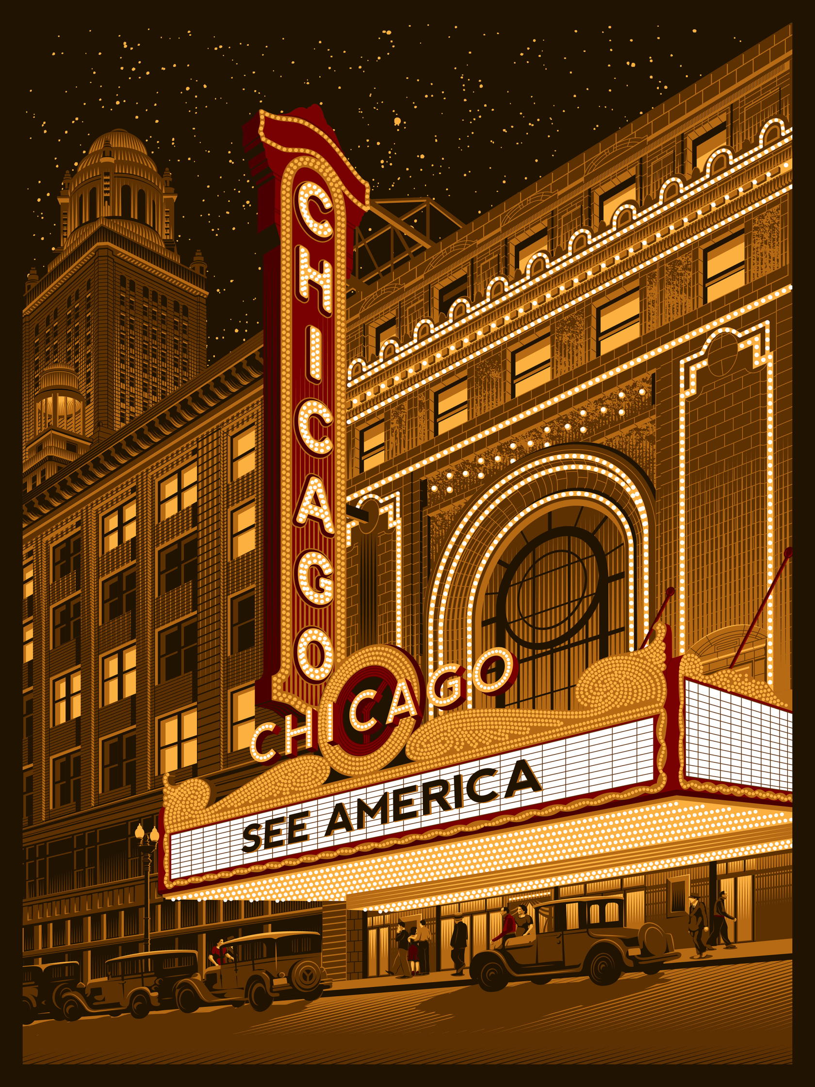 Chicago Theatre Night