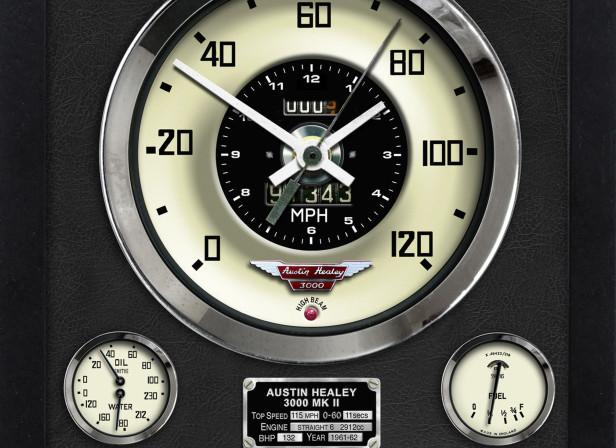 Austin Healey 3000 MK II Clock