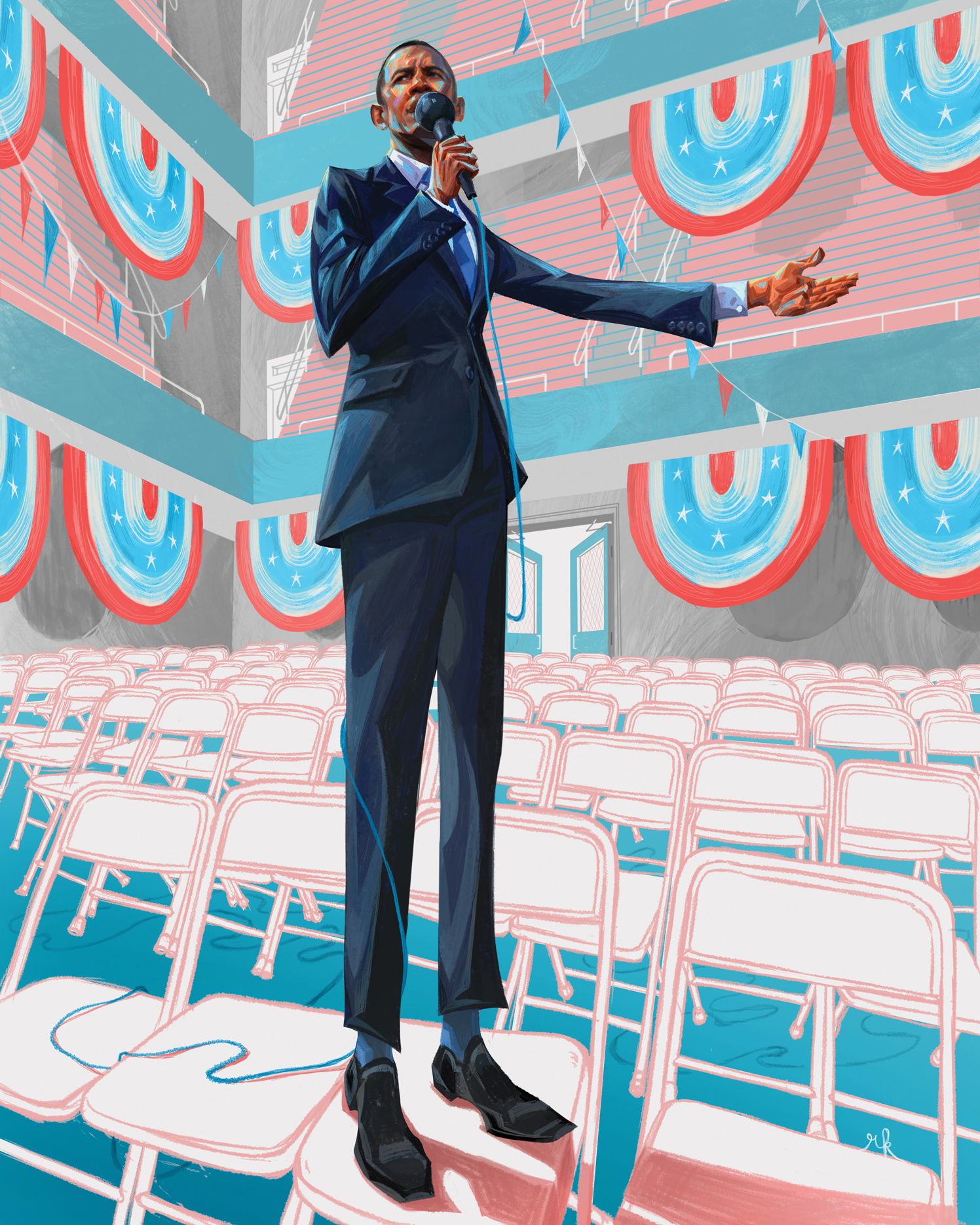 Barack Obama / The New Yorker