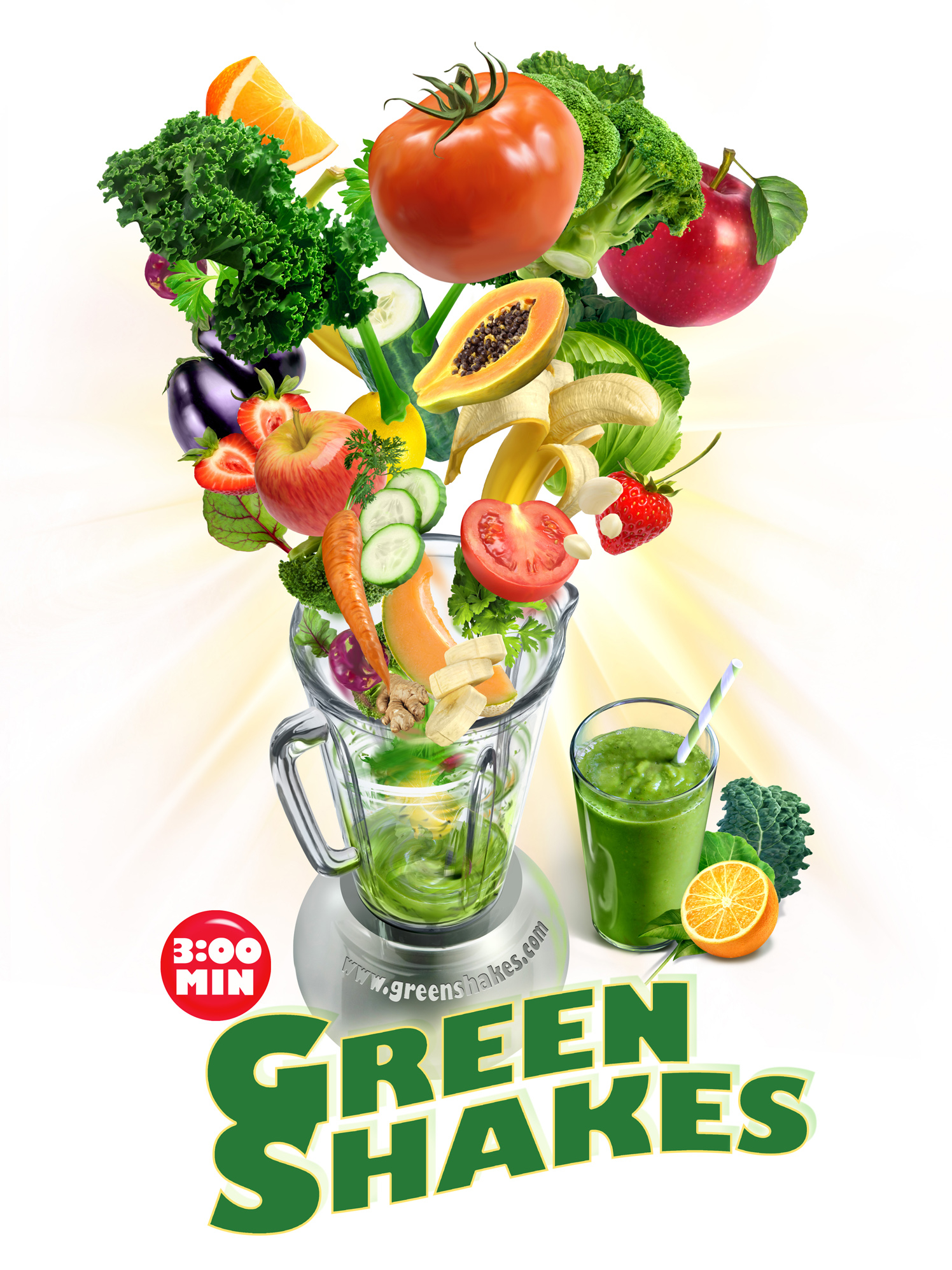 Green Shakes In 3 Minutes