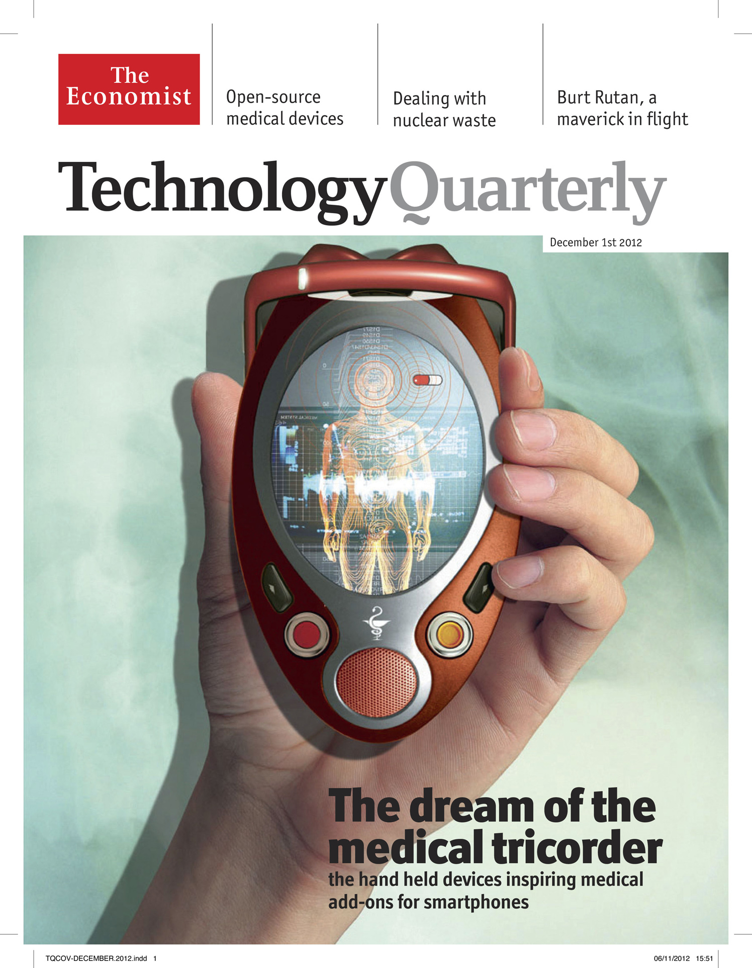 The Dream Of The Medical Tricoder / The Economist