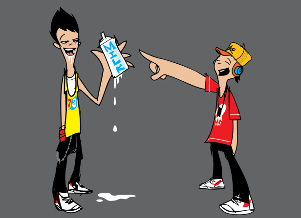 Milk Characters
