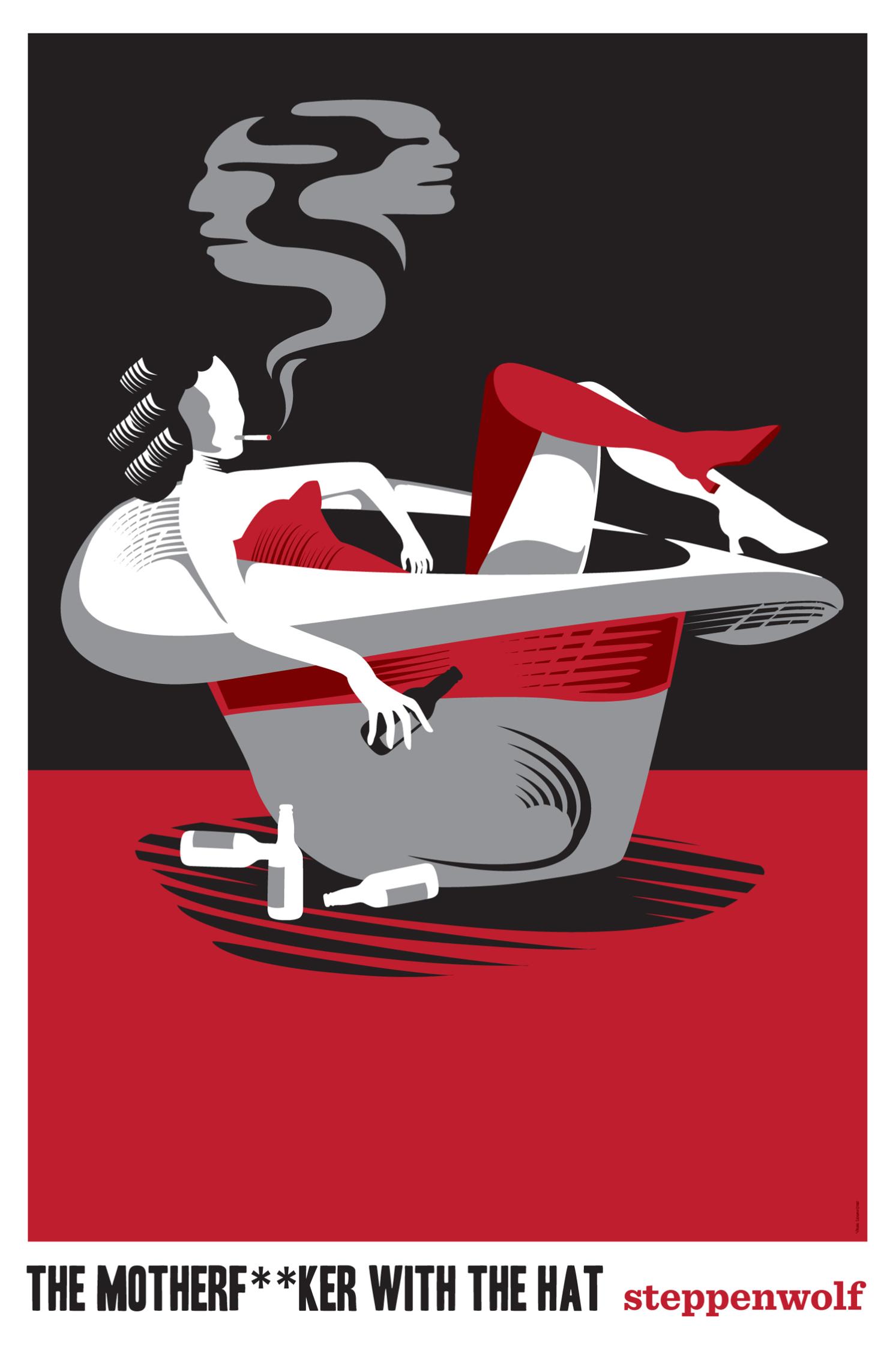 Steppenwolf Theatre Poster
