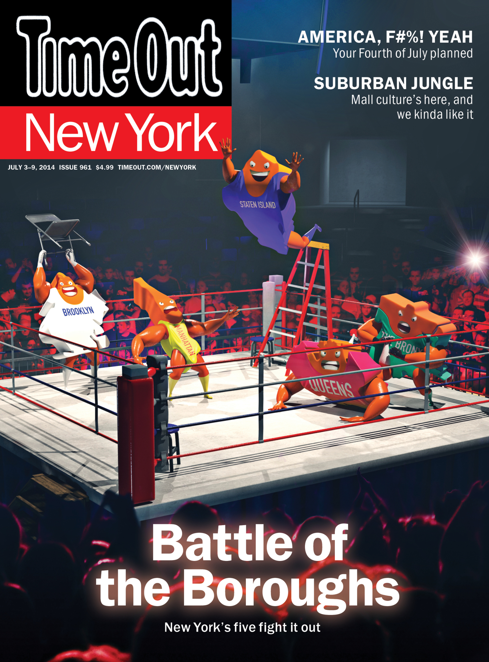 Battle Of The Boroughs / Time Out New York