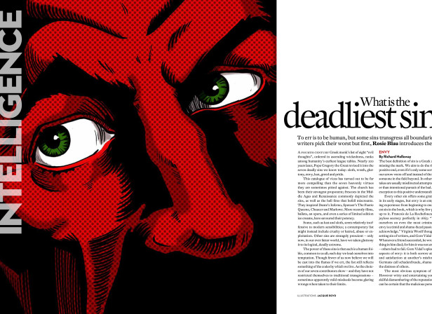 Intelligent Life Mag. / VII Deadly Sins. Envy