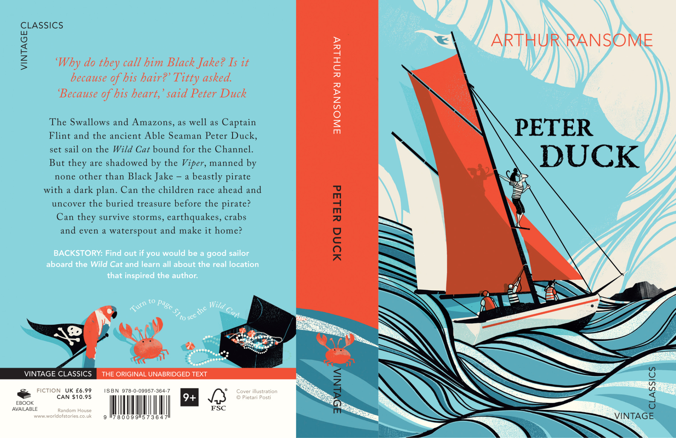 Arthur Ransome - Peter Duck Cover