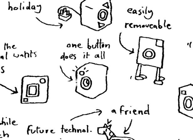 Brainstorm Hand Drawn Washing Machine