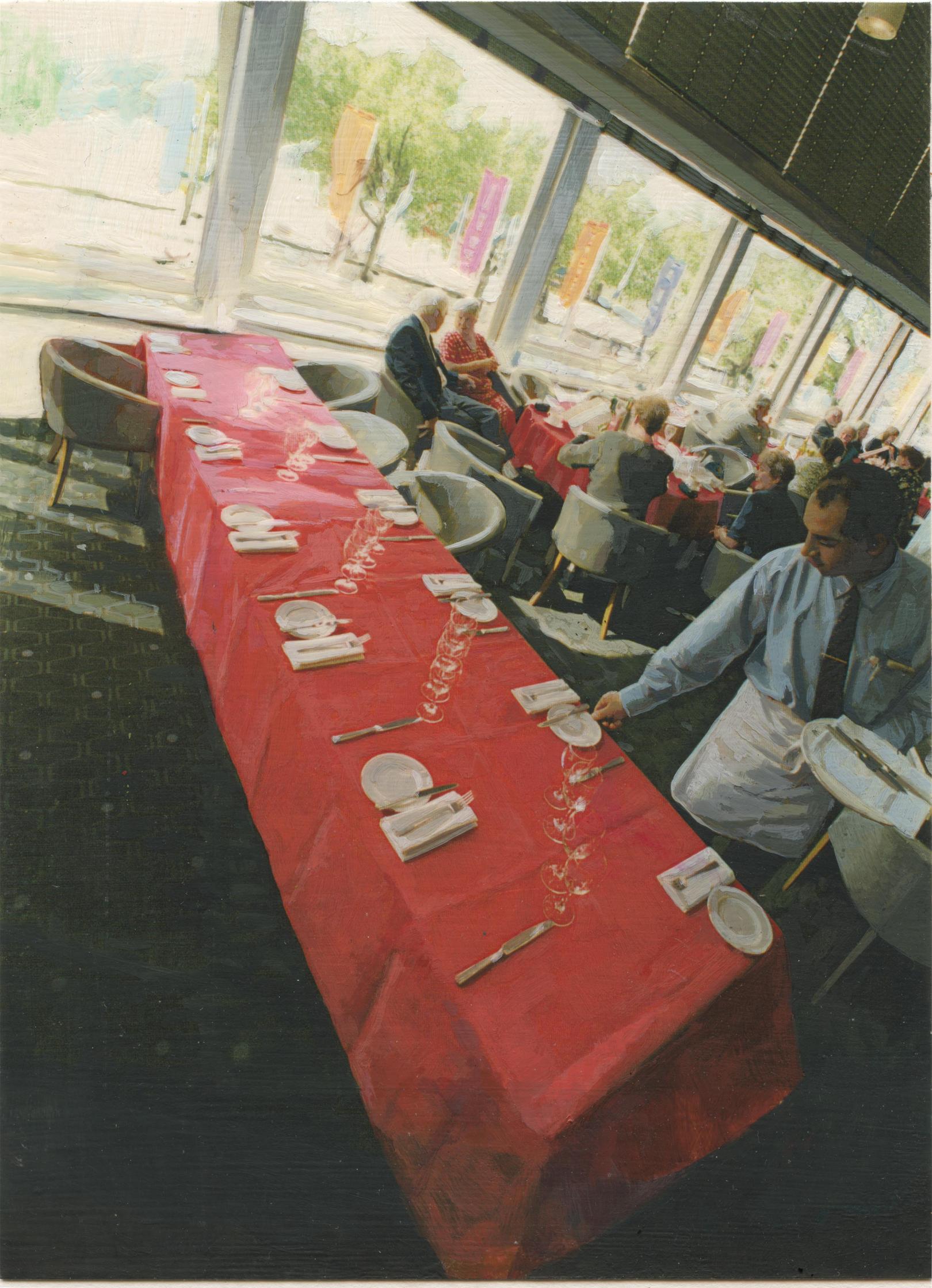 Waiter Restaurant Telegraph