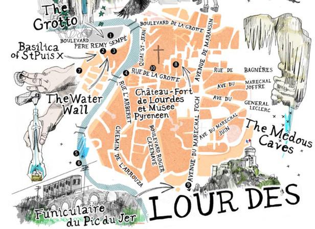 Lourdes Map / BMI Baby