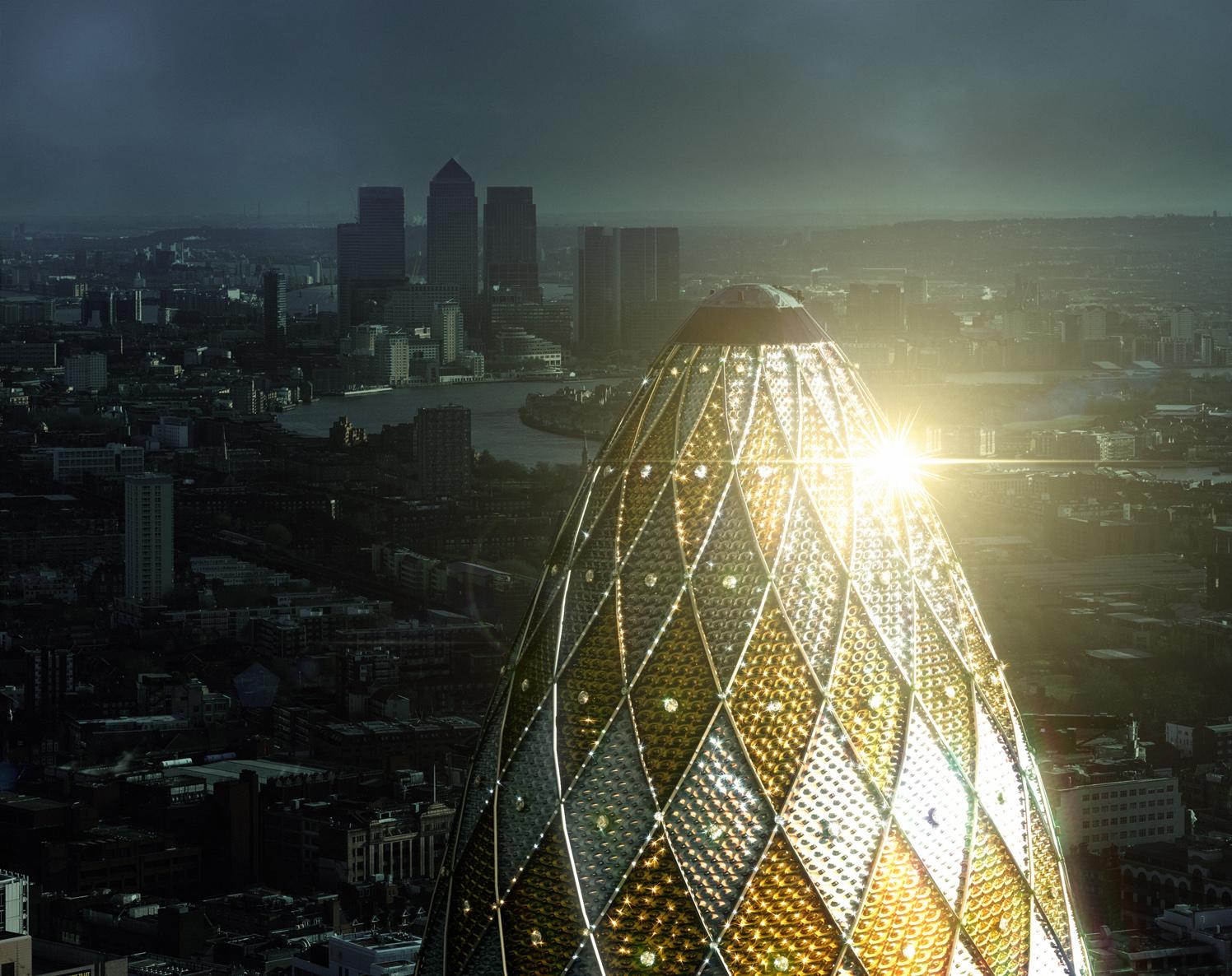 London Skyline The Gherkin
