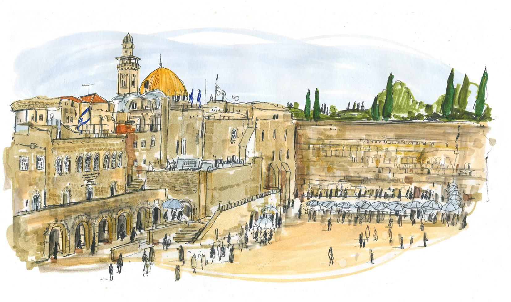 Wailing Wall Jerusalem / Conde Nast