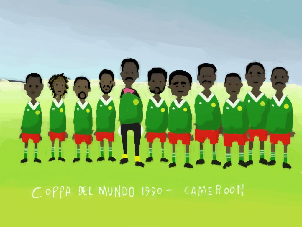 1990 Cameroon Team