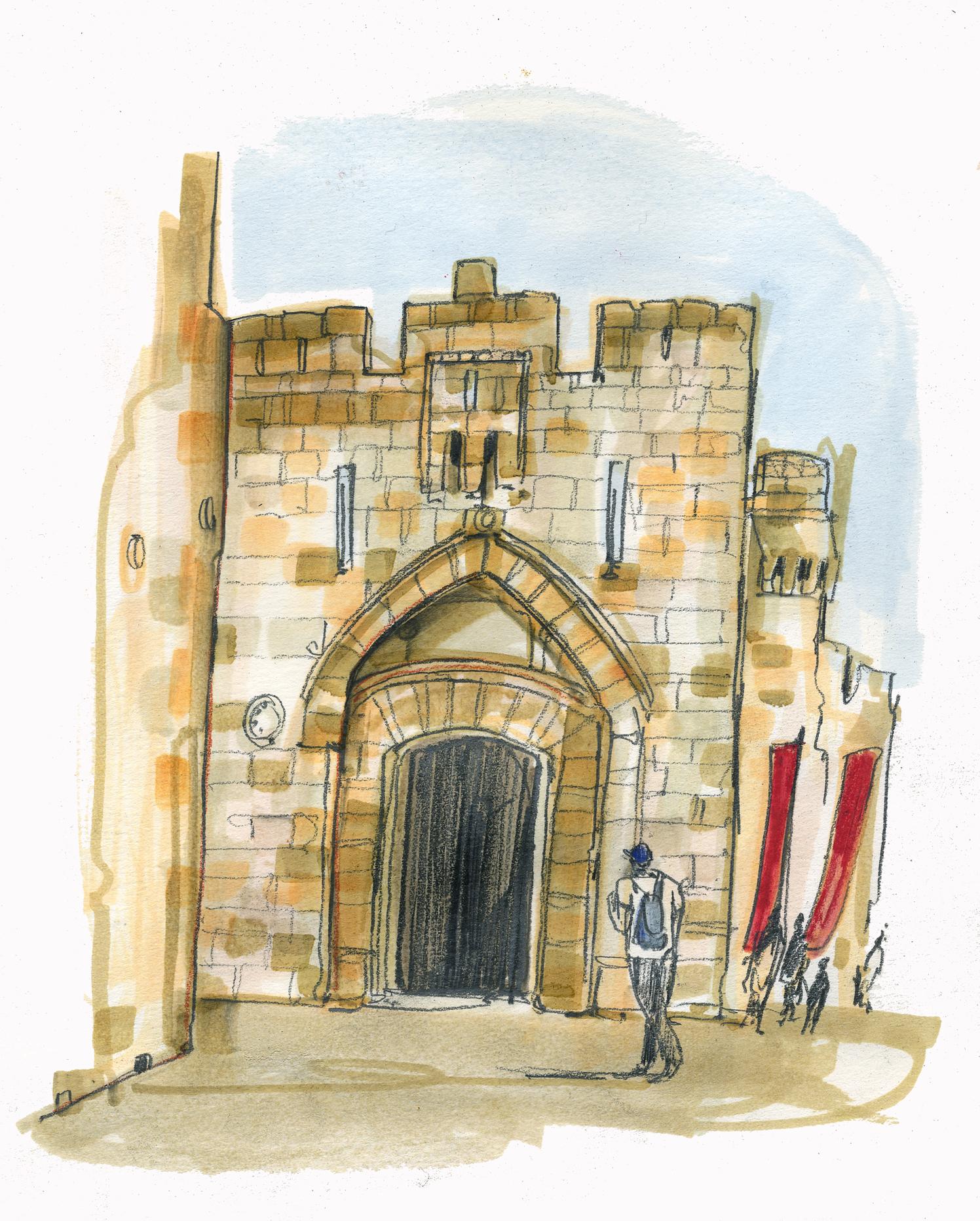 Jaffa Gate Jerusalem Conde Nast