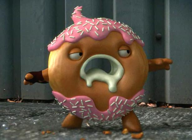 Wrigley's Doughnut