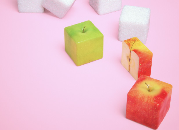 Apple and Sugar Cubes Mens Health Magazine