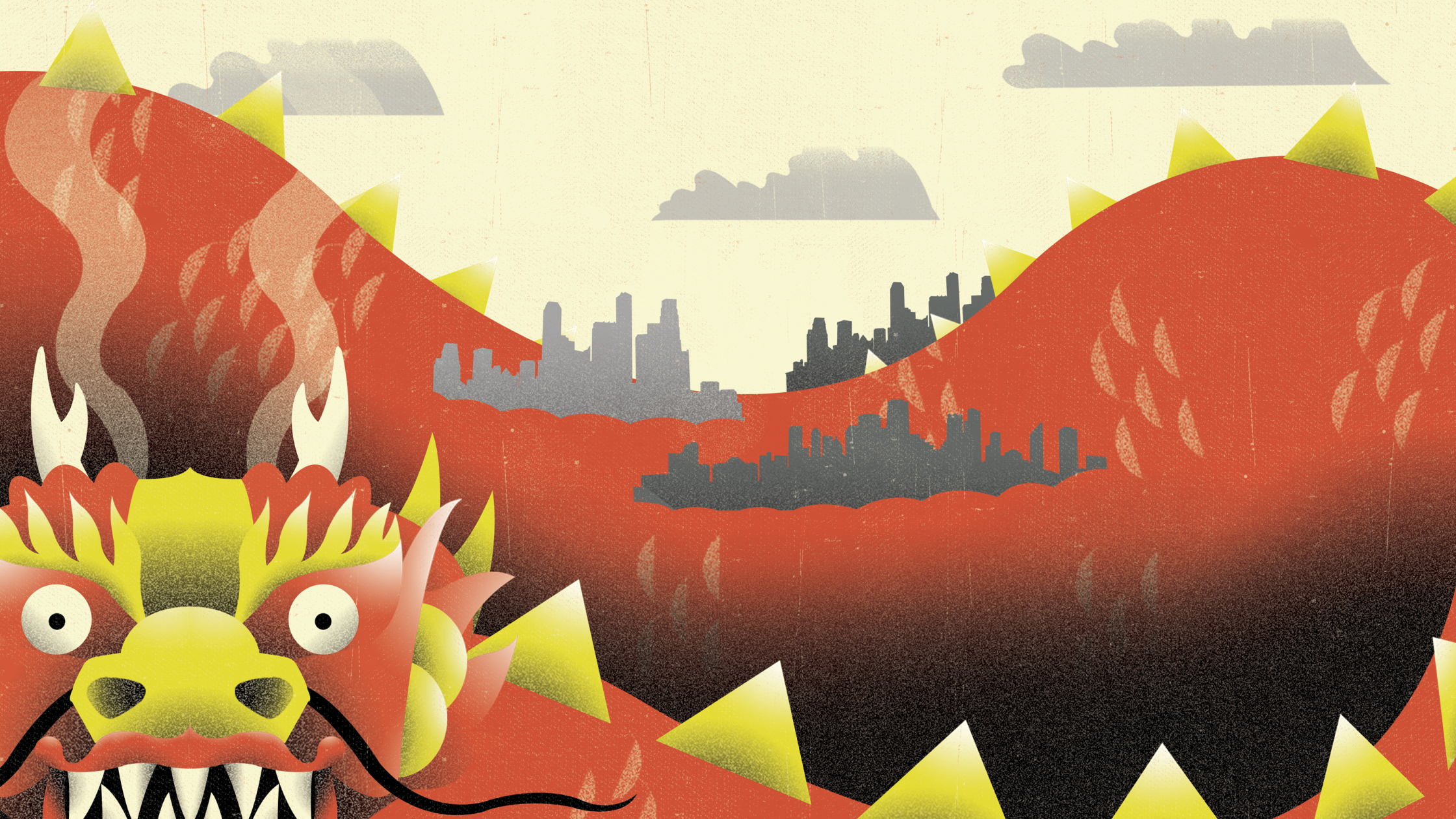 China City Growth Economy Dragon BBC
