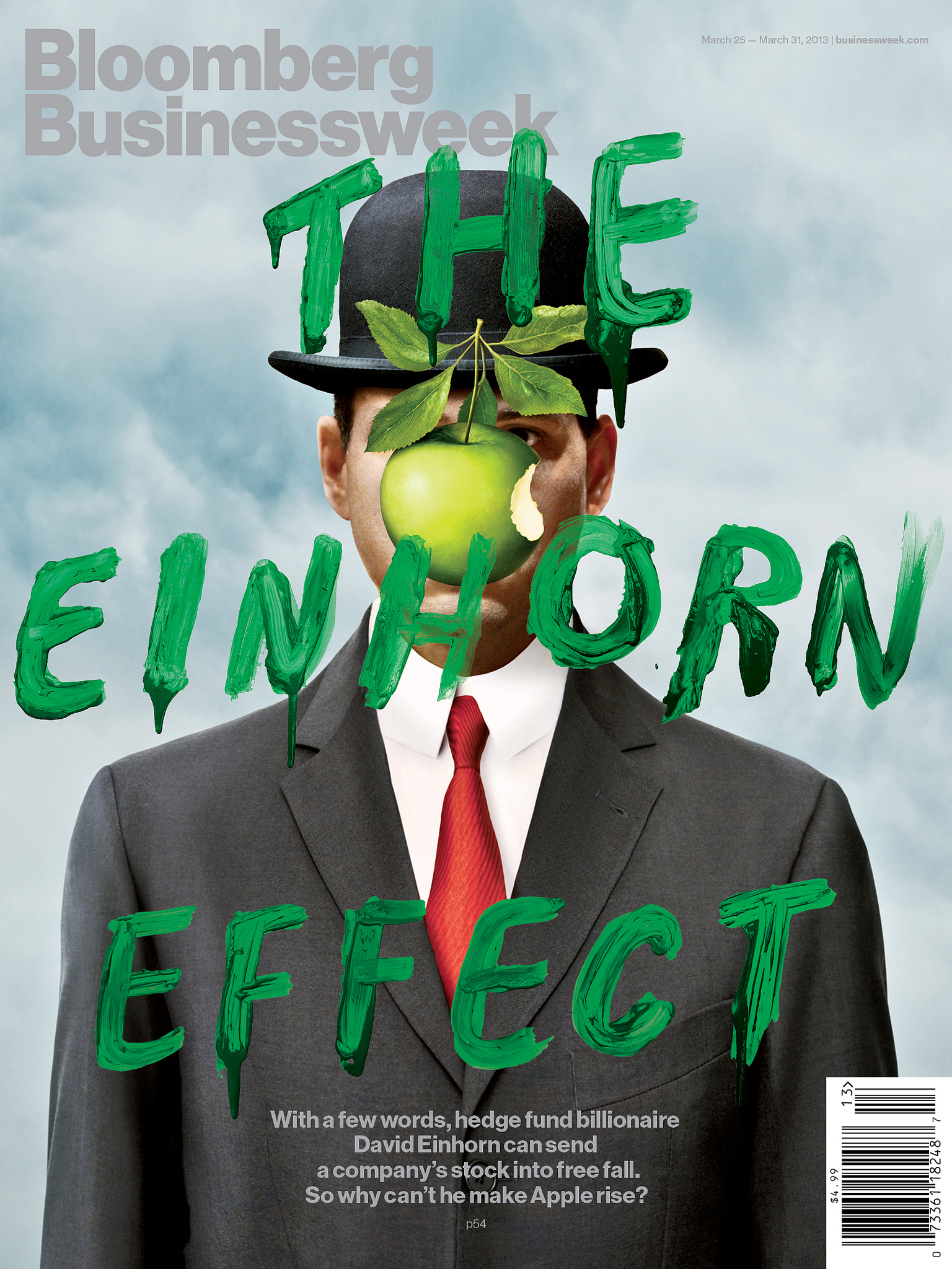 Bloomberg Businessweek Einhorn Cover