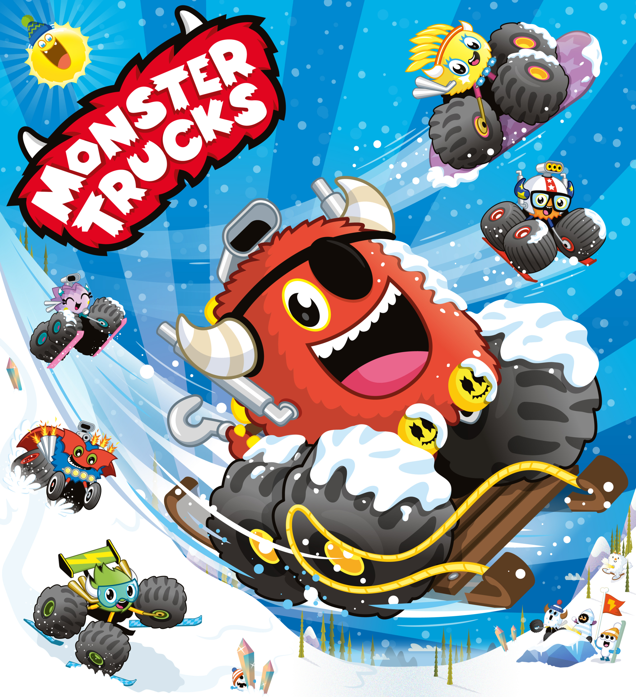 Monster Trucks Mountain Rescue Cover