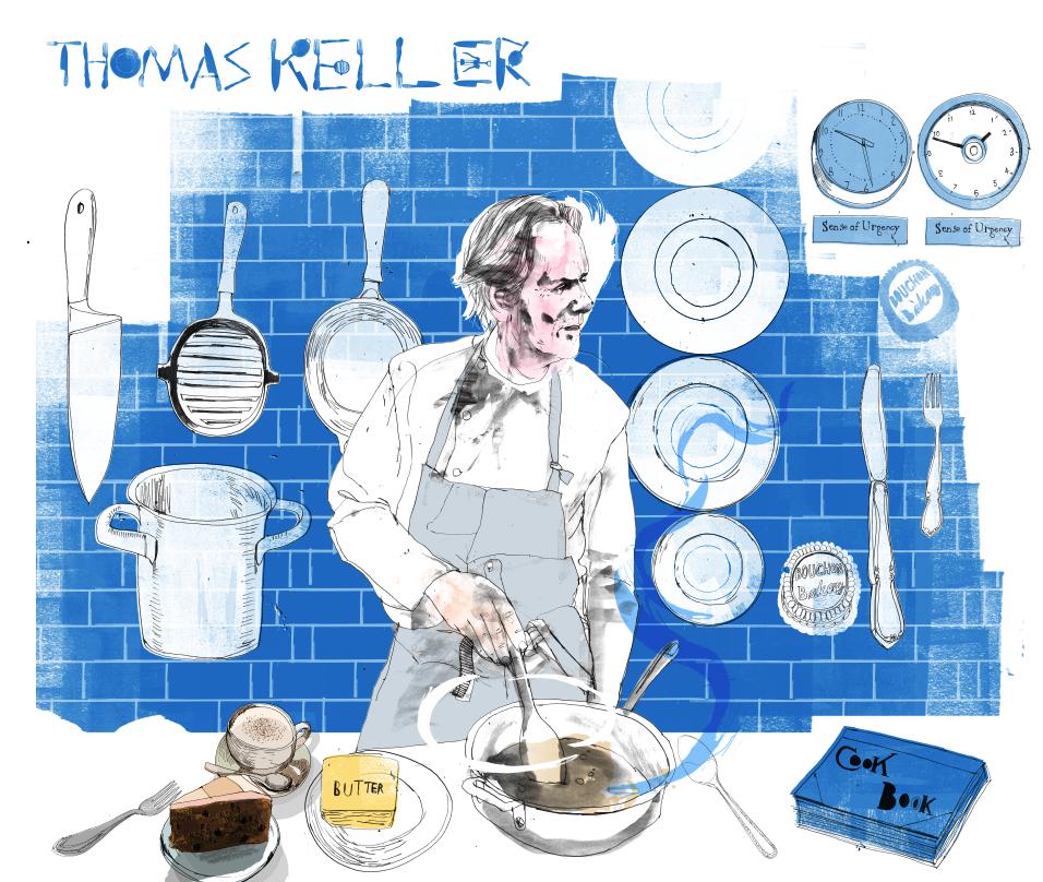 Thomas Keller + Type