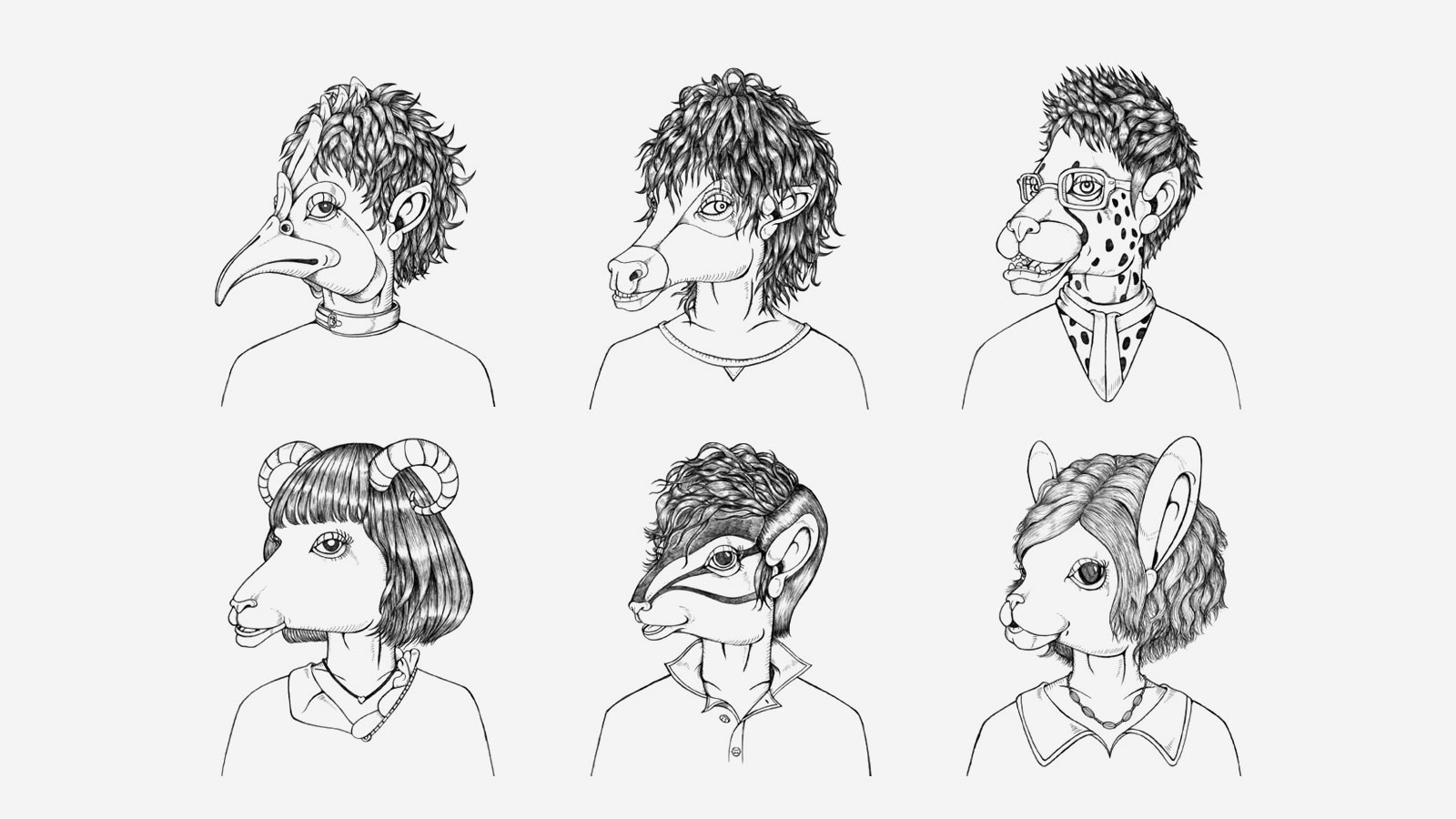 Hoyu Haircare Characters