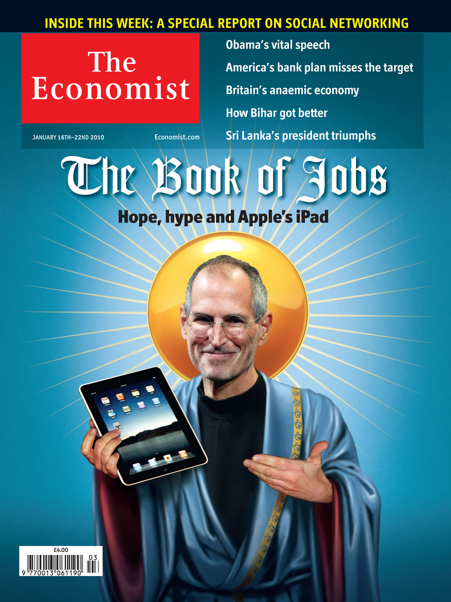 The Book Of Jobs / The Economist