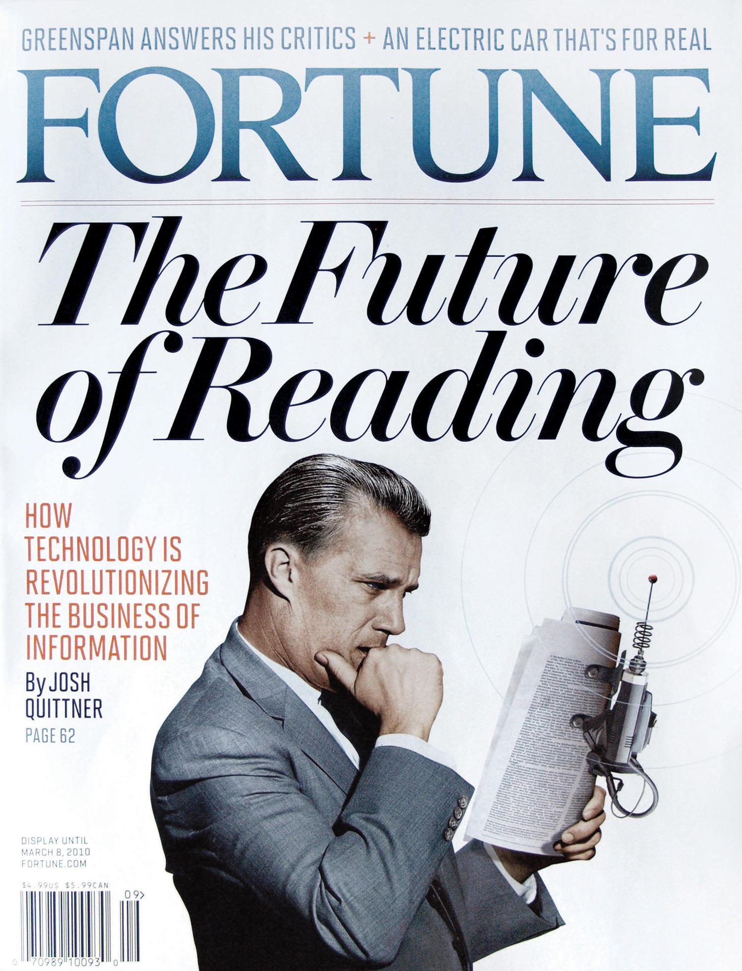 The Future Of Reading / Fortune Magazine