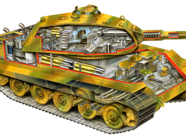 King Tiger Tank