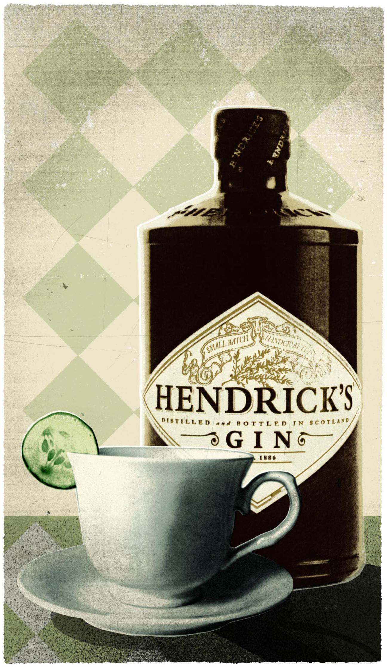 Harrods Magazine Hendrick's Gin