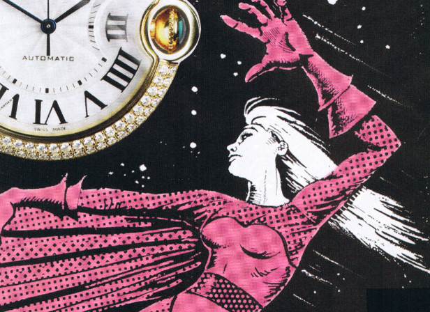Super Heroine Watches Harpers Bazaar