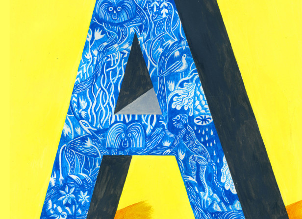 Alphabet Design Series Letter A