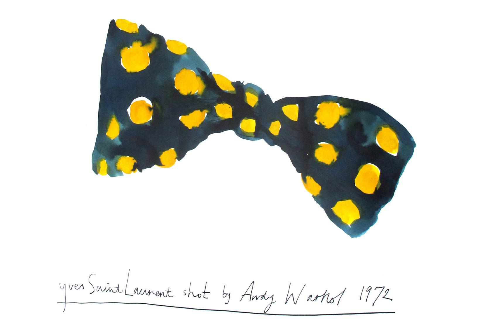 YSL Shot By Andy Warhol 1972