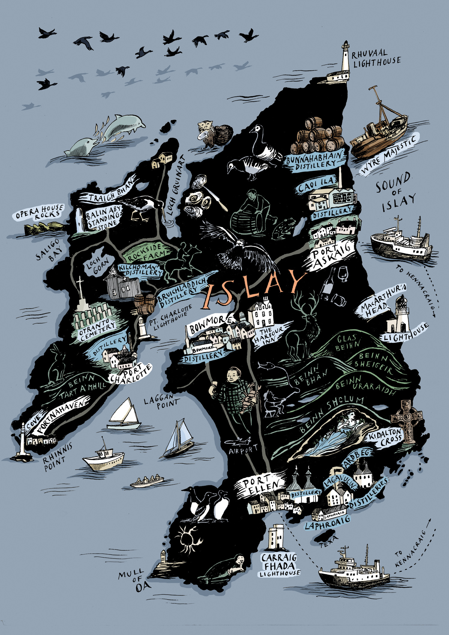 Islay's Treasure Map / Unfiltered Magazine