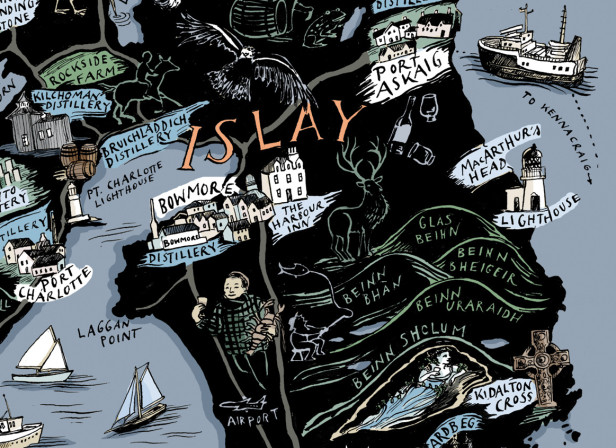 Islay's Treasure Map / Unfiltered Magazine