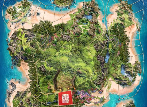 Volcano Island Gameboard