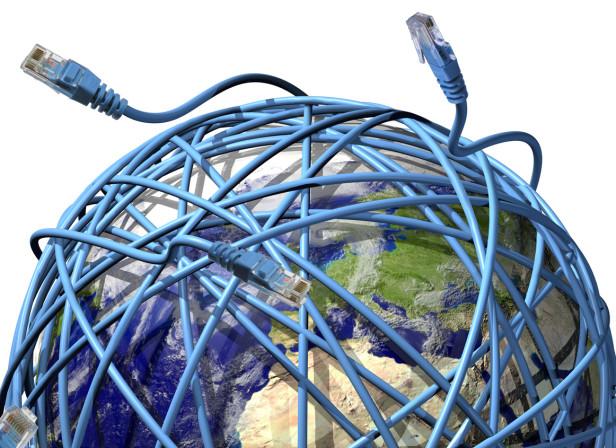 Magazine Cover Digital World Network