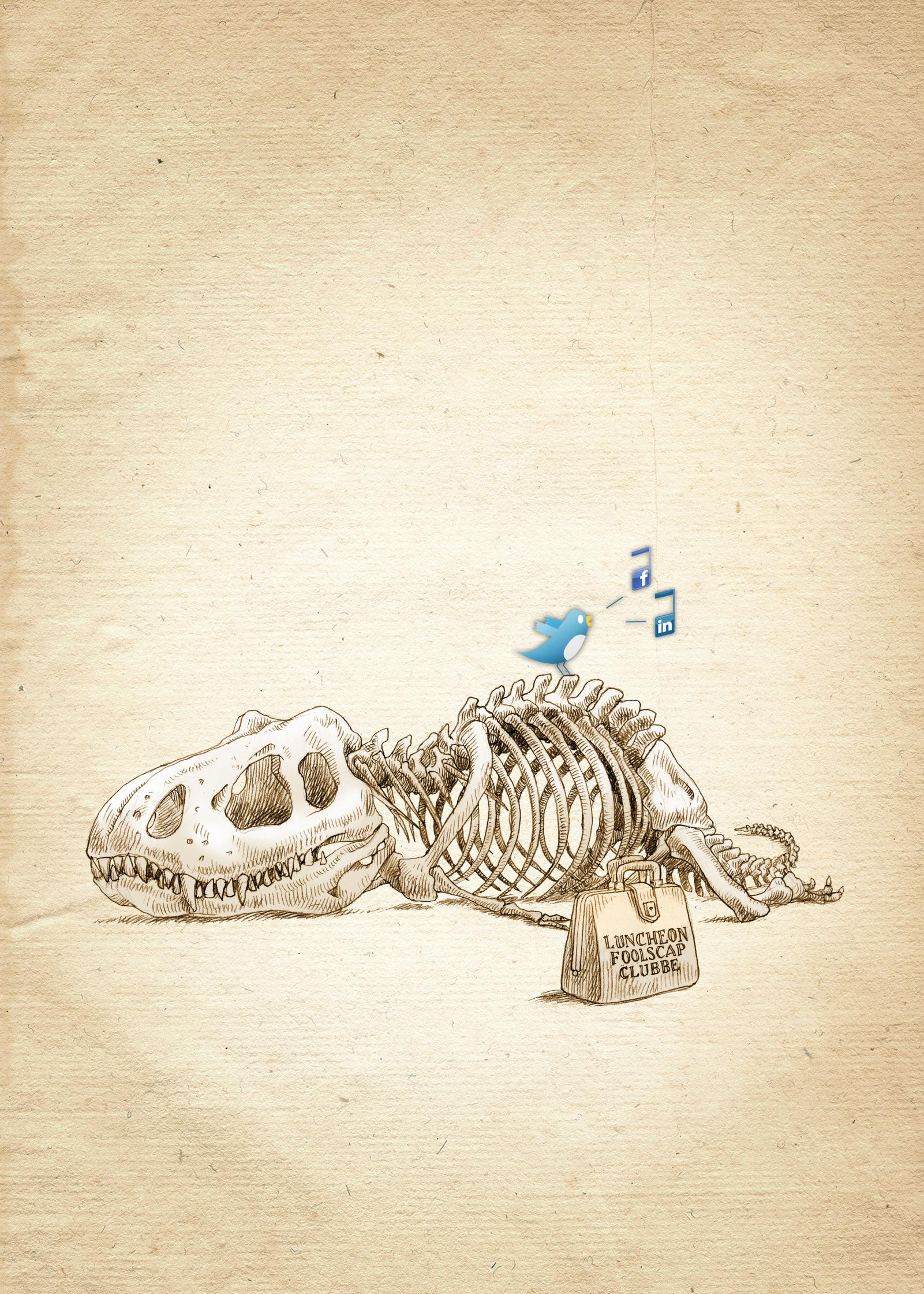 Dinosaur Twitter Social Media