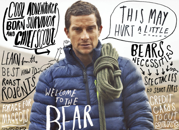 Bear Grylls Academy / Highlife Magazine