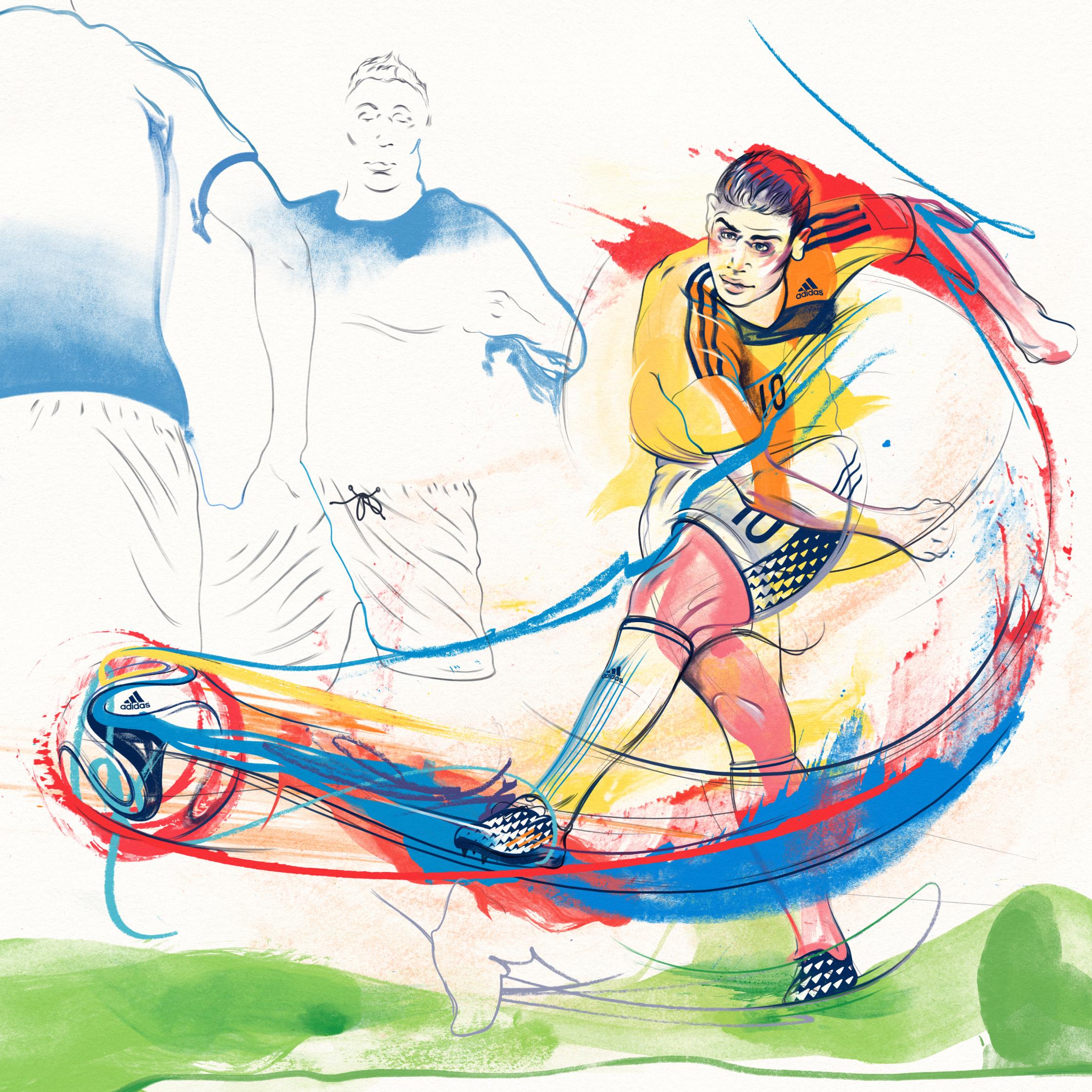 James Rodriguez / Adidas