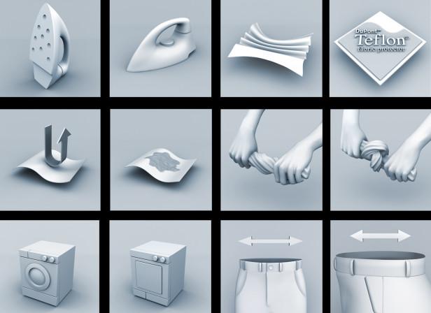 Saintsburys 3d Fabric Icons